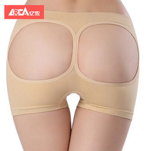 YIJIA 2018 New Women Butt Lifter Panties Enhancer Bum Lift Shaper padded hips and buttocks Tummy Control Panties Shapewear