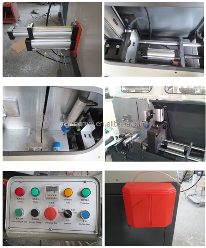 LJJB-450*100/500*140 Hot sale aluminum corner cutting machine for aluminum doors production line