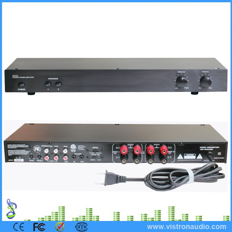 Multi channel Digital Stereo home audio Amplifier