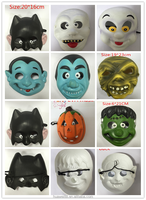 Factory Price High Quality EVA Animal Mask For Kids New Wholesale eva animal mask for kids Handpaint cat face Mask for carnival