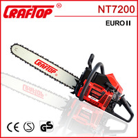 mini agricultural machine gasoline chainsaw 72cc