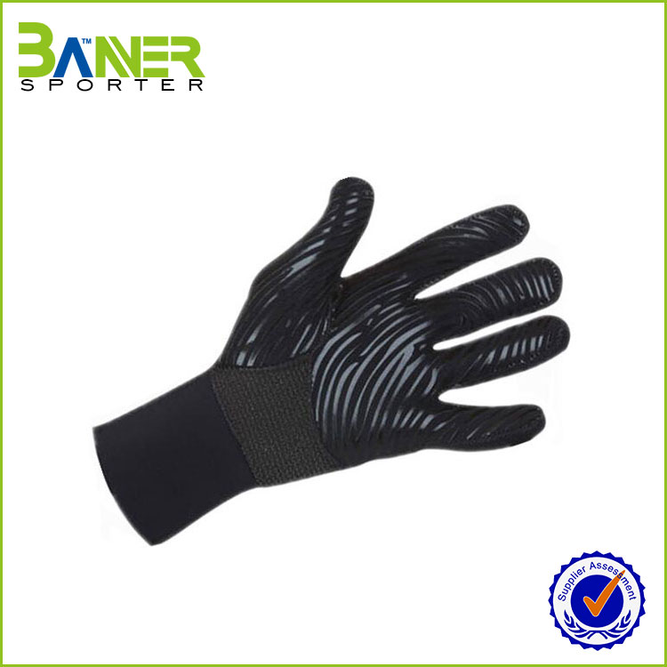 Neoprene Padded Fingerless Workout Weighted Gloves for Body Building Gym Training