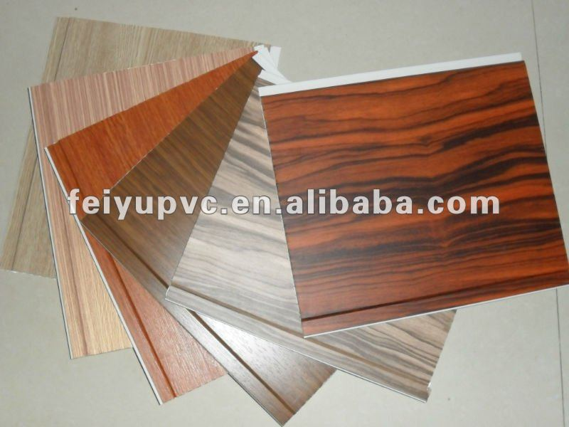 PVC hot stamping & laminate panel/plastic sheet for interior decoration