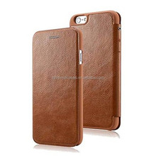 Fashion Wallet PU Leather Ultra Slim Case Cover Protective Shell for iPhone 6 Plus
