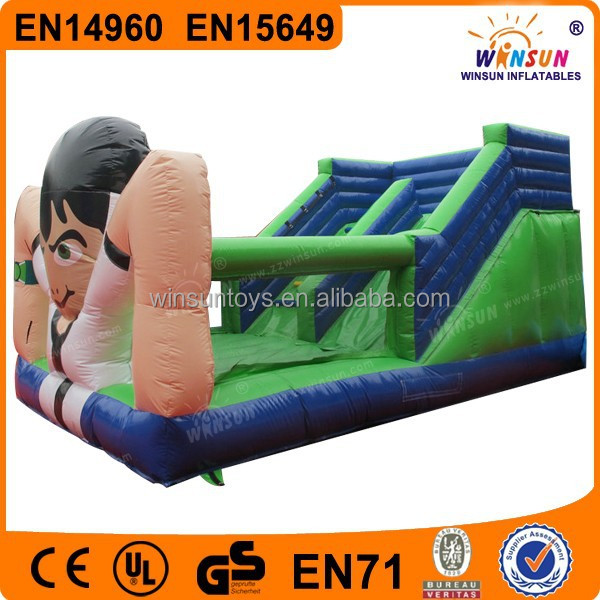 Durable PVC inflatable slip and slide pool for buy