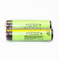 For Panasonic NCR18650B 18650 battery high quality 3.7V 3400mAh lithium ion battery