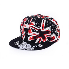 England snapback caps country flag printing hat high quality snapback hats for sale