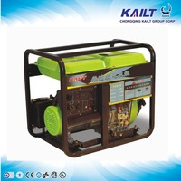 air cooled 5kw diesel power generator with pure copper wire