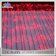 factory christmas led waterproof curtain light for decoration
