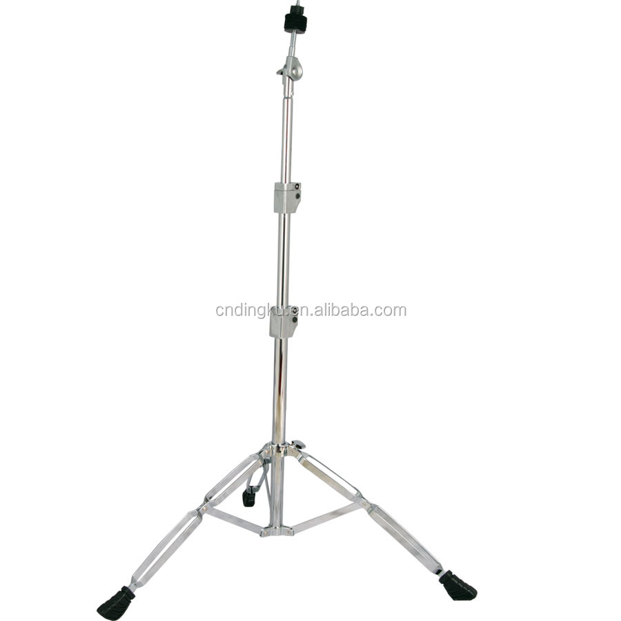 DK BRAND all serious straight cymbal stand with chrome accessories