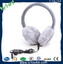 winter sound proof earmuffs with bluetooth