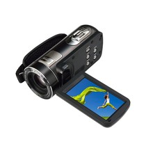 Super 1080P Full HD Digital Video Camera with 3.0'' Touch Display and 10X Optical Zoom 120x Digital Zoom Camcorder