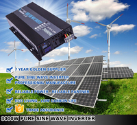 business industrial solar panels 250w pure sine wave power dc-ac inverter 3000w for electric appliance