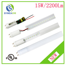 ETL Listed T8 4FT 18W 1800lm 3 years warranty LED Tube With G13 Ends and Whole PC Cover t8 8tube japanese japan tube
