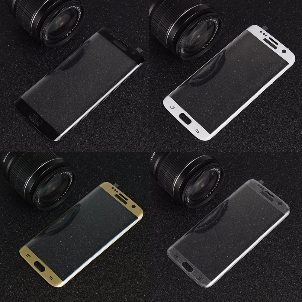 Glass for iPhone 6 6s Plus Full Cover Curved Tempered Glass Screen Protector for Samsung Galaxy S6 EdgeS7 edge S7