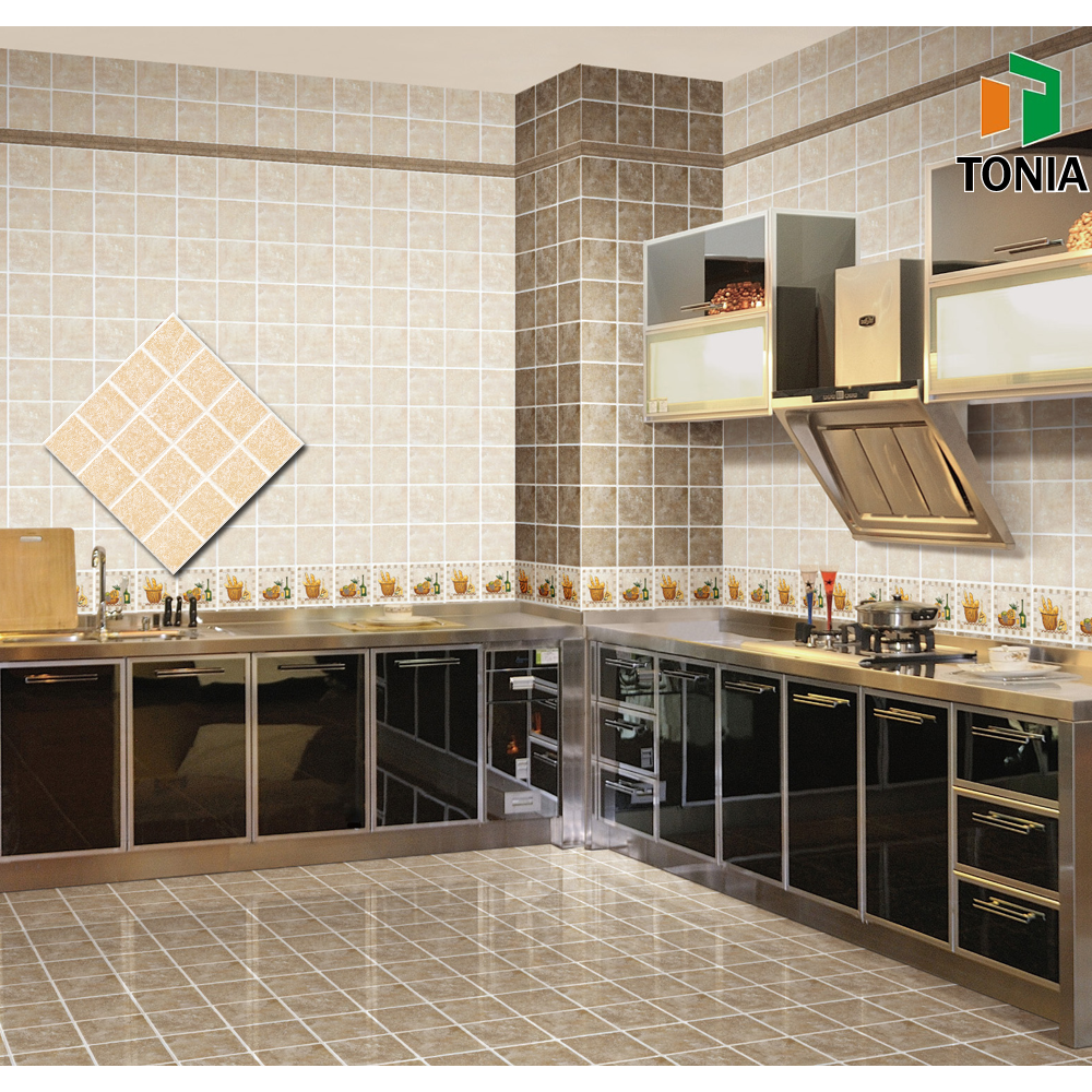 Ceramic picture tiles for kitchen