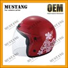 New Design Summer Half Face Helmet With Breathable Removable Inner