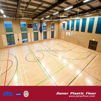Basketball Court Maple Wood Flooring