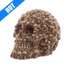Novelty Halloween Polyresin Resin Carven Skull