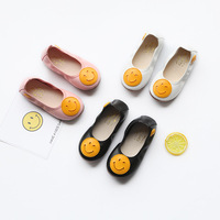FC11112 autumn 2017 new style children shoes flat shoes cute girls shoes