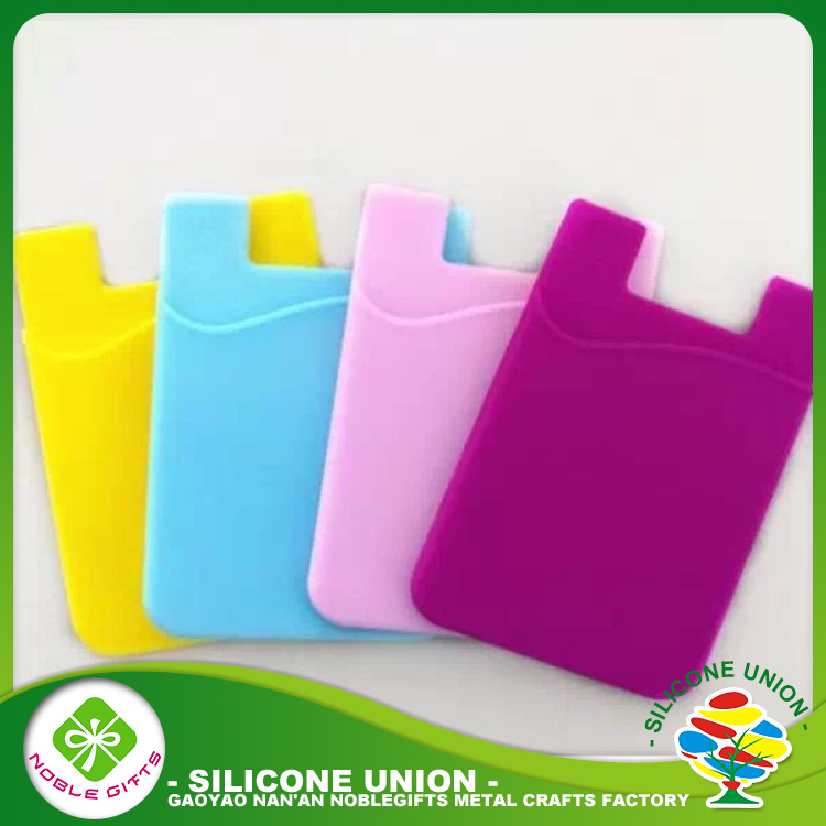 Goo price 3m smart wallet silicone rubber business card holder