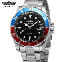 2016 Luxury Hot T-Winner custom logo automatic men stainless steel watch