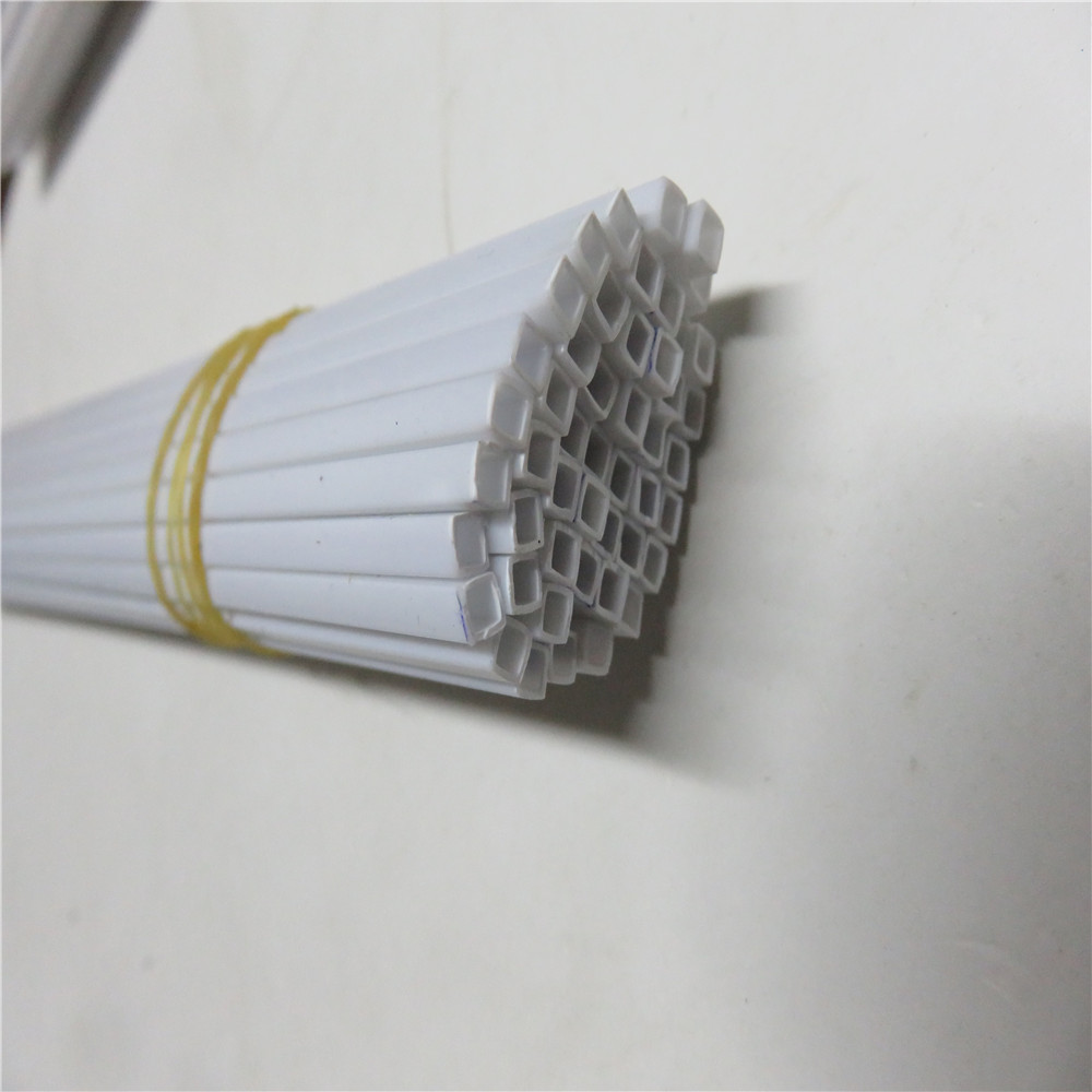 3d building platic model tube 3.0*3.0*500mm