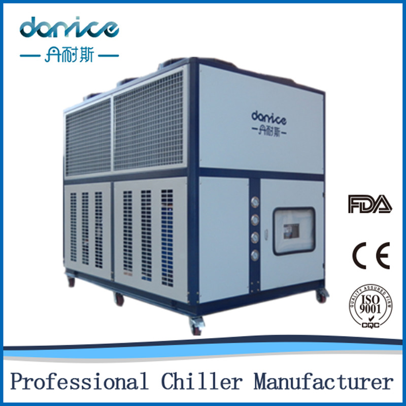 50HP Industrial Air To Water Chillers For Grinding Machine Powder Coating Singapore