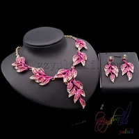 Colombia fashion jewelry Valentine day gifts Crystal jewelry