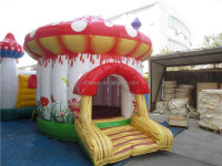 kids indoor mushroom inflatable bounce house/jumping castle