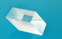Sapphire Fused silica K9 BK7 Rhomboid glass prism for stereoscopic and periscope system