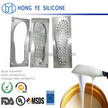 Good price rtv-2 liquid silicone rubber for shoe sole mold making