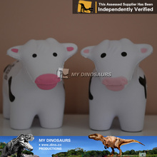 My Dino-large plastic animals 3d character design polyresin animals PU cow