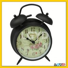 Classic Metal Classical Nostalgia Retro Butterfly Clock
