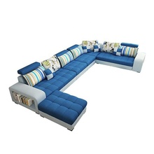 Living room corner sofa 6 seat set design U shape sofa set designs living room <strong>furniture</strong>