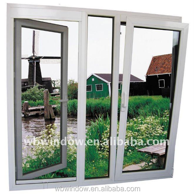 European style tilt and turn window, pvc windows and doors