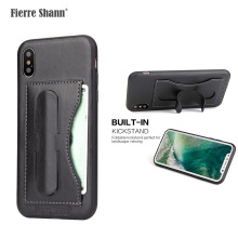 Wholesale Handcraft Leather Phone Accessories Mobile Case For Iphone X