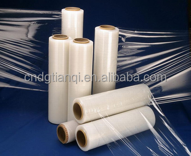 high quality lldpe film/lldpe stretch film/lldpe stretch film jumbo roll PE plastic film roll factory price