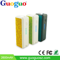 New Rechargeable USB Power Bank 2000mAh Powerbank Backup Battery PU Leather Mobile Power Bank