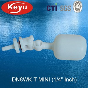 1/4'' Inch DN8WK-T Mini Float Shut Off Valve Installed on Animal Husbandry Equipment
