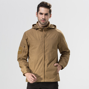 Men Military Tactical Outdoor Hunting Hiking Fleece softshell jacket