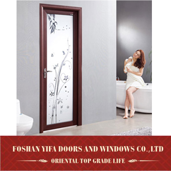 office interior glass hinge swing half door for sale