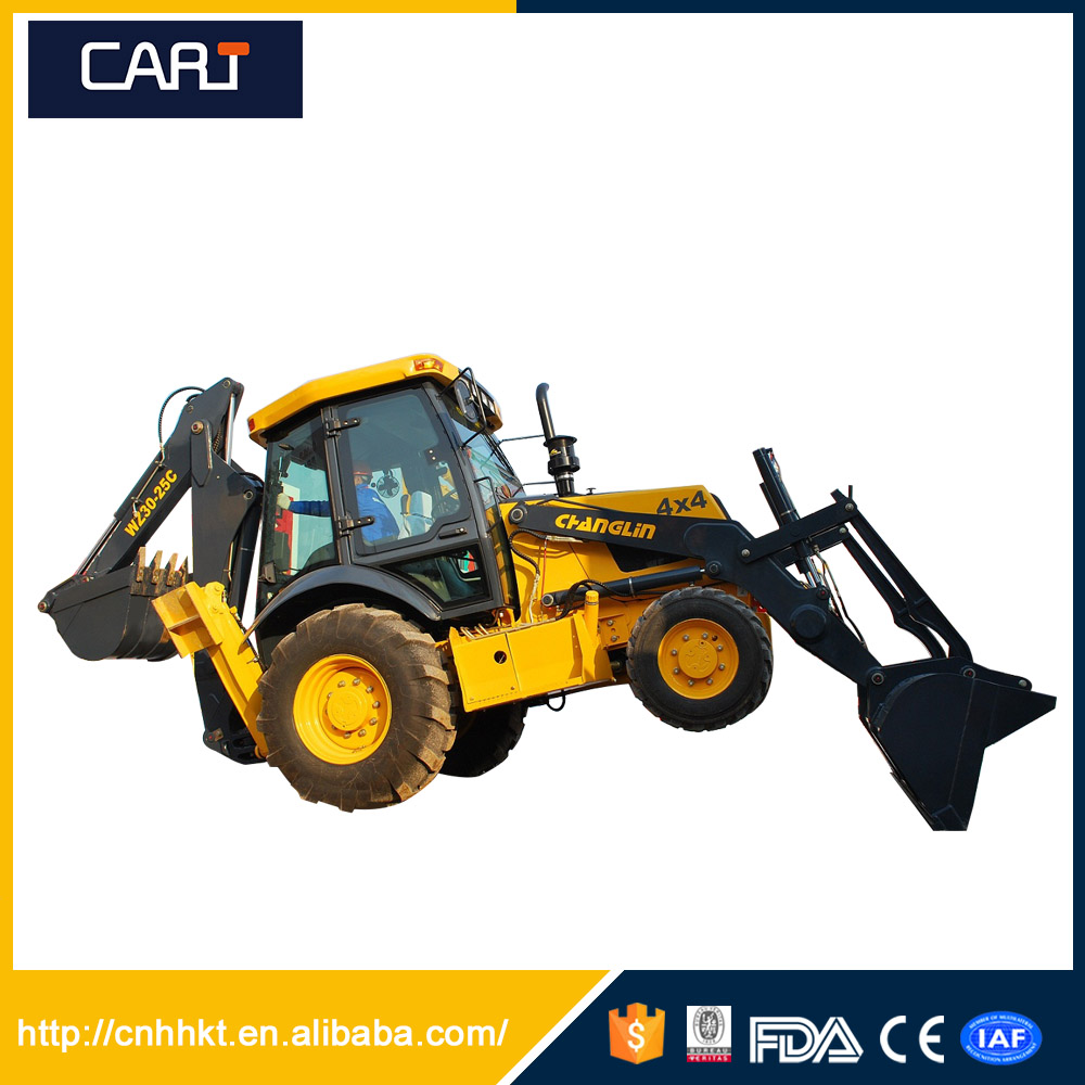 Construction Equipment 1cbm Bucket Small Backhoe Loader with CE