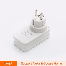 Smart Home EU Plug Wifi White Power Socket and Plug with Remote Control from Anywhere