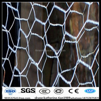 Anping factory Hexagonal Bird Poultry Wire Netting Hot-dipped Galvanized Netting