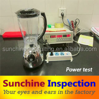 China professional quality inspection agent for Blender/Home Appliance quality control for oversea buyers