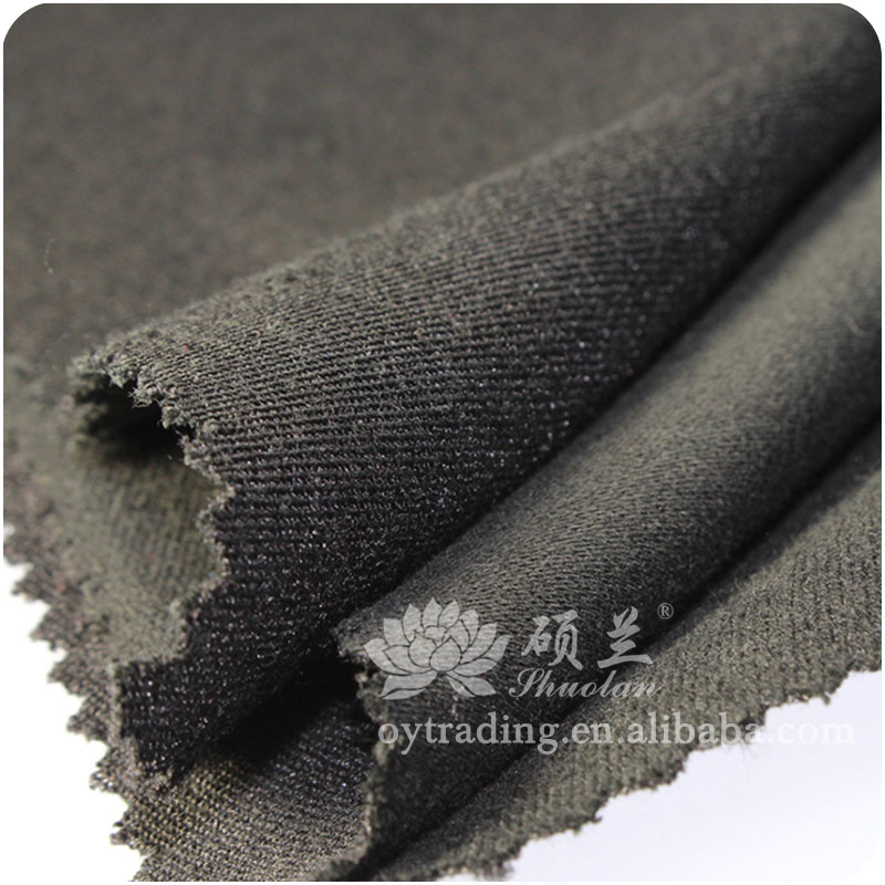 OEM working cloth 300gsm polyester/cotton flame retardant fabric
