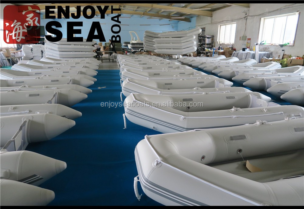 Inflatable rescue boat with outboard motor inflatable for Dinghy motor for sale
