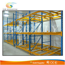 Industry Large Capacity Push Back Storage Racking
