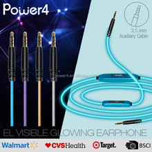 Glisten audio video cable with 3.5mm jack to 3.5mm jack